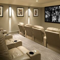 Basement Home Theater Pictures Design, Pictures, Remodel, Decor and Ideas