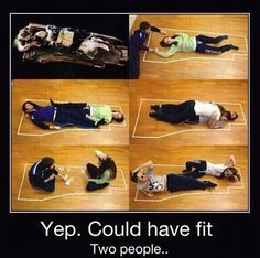 Stating the obvious - They could have fit easily! Titanic