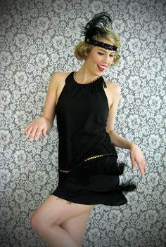 Wear The Canvas: DIY Flapper Dress Costume