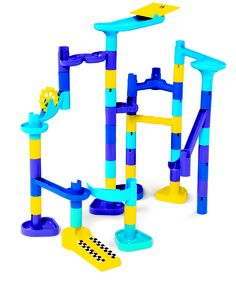 Marble Works from Discovery Toys.. The best toy I ever owned. I'll have to remember this