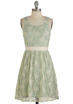 Special Occasion - Floral Arrange-Mint Dress