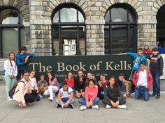 Alumnos de  #ColegiosISP  visitan #TrinityCollegeDublin  en su estancia en  #Irlanda16  https://www.tcd.ie/