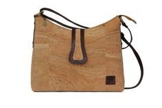 Carla | Cork Shoulder bag | Elegant and spacious bag