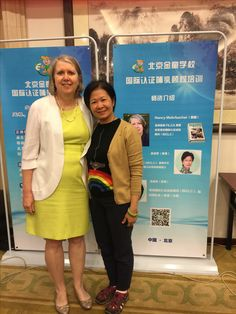 Me and my co-instructor Maggie Yu during our first IBCLC training course in Beijing. She does incredible work with breastfeeding in Asia.