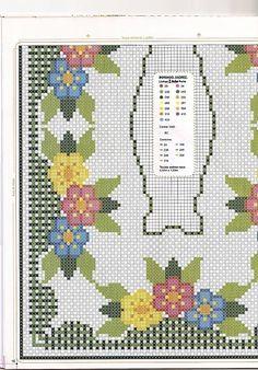 Cantinho da Jana: Gráficos para bordar em tecido xadrez