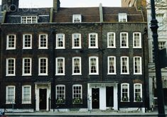 Georgian Terrace Houses, built 1726, Smith Square, London.