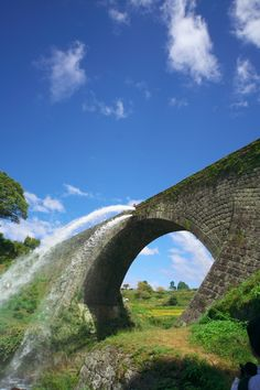 Tsujun Bridge - Aqueduct bridge in Yamato, Kumamoto, Japan Japan Countryside, Beautiful World, Beautiful Places, Places Ive Been, Places To Go, Kumamoto, Nihon, Japanese Beauty, Bridges