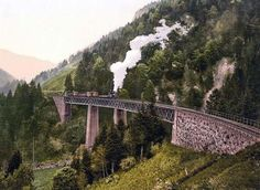 Viaduct and gorge, Hollenthal, Black Forest, Baden, Germany Harry potter? What A Wonderful World, Black Forest Germany, Old Pictures, Travel Pictures, Germany Travel, Wonders Of The World, Beautiful Places, Amazing Places, National Parks