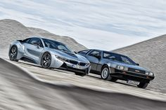 BMW i8 trifft DeLorean MDC-12 - Bilder - autobild.de