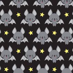 Cute baby bats fabric by petitspixels on Spoonflower - custom fabric Cute Baby Bats, Cute Bat, Cute Babies, Cute Halloween, Vintage Halloween, Kawaii Halloween, Cute Wallpapers, Wallpaper Backgrounds, Fabric Wallpaper
