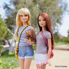Hiking with Ms. Honey! Taking time to enjoy the beauty around us.  #barbie #barbiestyle