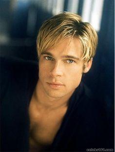 Brad Pitt, circa 'Meet Joe Black'    phenomenal actor and still delicious, delicious hotness!