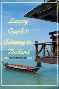 Spend some time in Paradise with a luxury couple's getaway in Thailand.