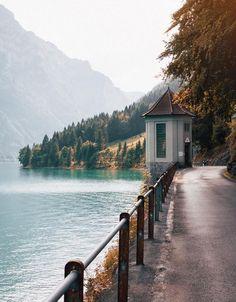 Klöntalersee, Switzerland
