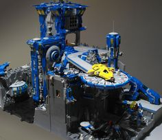 LEGO Space   Cold Moon Base