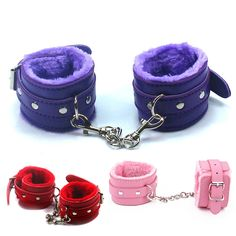 Leather Hand Ring Handcuff Ankle-cuffs Restraint Bondage Fetish Cosplay cop bdsm Wrist sex toy for couple sex life women #clothing,#shoes,#jewelry,#women,#men,#hats,#watches,#belts,#fashion,#style