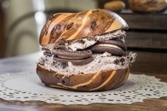 The Bagel Nook sells unique OVERLOAD bagels and small batch cream cheeses including Nutella and Oreo cream cheeses