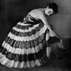 Jacques Heim, 1950 || #vintage #fashion
