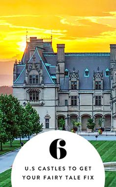 6 Castles in America Where You Can Get Your Fairy-Tale Fix via @PureWow