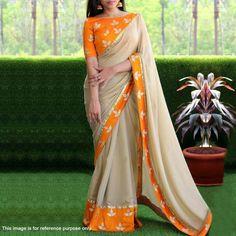 Sari Blouse Designs, Saree Blouse Patterns, Designer Blouse Patterns, Fancy Blouse Designs, Cotton Saree Designs, Choli Designs, Designer Sarees Collection, Latest Designer Sarees, Saree Collection