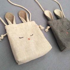 TAM niños conejo bolsa niño monedero Cross Body Bag conejo y | Etsy