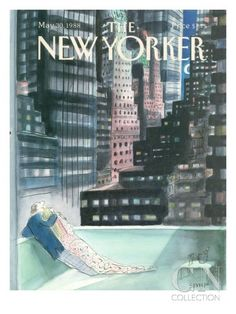 The New Yorker Cover - May 30, 1988 Poster Print by Jean-Jacques Sempé at the Condé Nast Collection