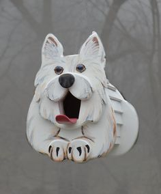 Westie the Dog Birdhouse or Feeder dog lover gift West