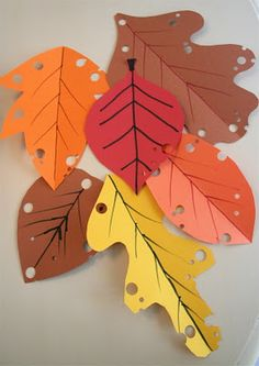 Will probably do this with the girls to add some simple Thanksgiving Day decor to our house.
