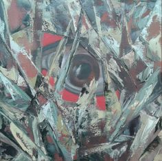Lo Sguardo oltre - Olio su tela 50x50 2015 Master Chief, Painting, Abstract, Artwork, Fictional Characters, Summary, Work Of Art, Auguste Rodin Artwork, Painting Art