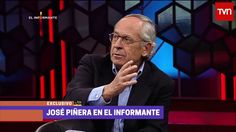 Entrevista exclusiva con José Piñera, el padre de las AFP - El Informante miércoles 3 de agosto Fictional Characters, Interview, Father