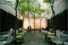 Paley Park, Manhattan - an oasis in an urban jungle.