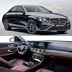 Mercedes-AMG E 43 4MATIC 2017 Sedã preparado pela AMG é apresentado no Salão do Automóvel e chega ao Brasil com motor V6 de 3.0 litros que gera 401 cv e e 520 Nm de torque. Oferece tração integral permanente e transmissão automática 9G-TRONIC de nove velocidades. Tem ainda o sistema de suspensão adaptativa Air Body Control. Faz de 0 a 100 km/h em 4.6s com máxima de 250 km/h limitada eletronicamente.  A E 43 também exibe design que ressalta suas características esportivas: para-choque e capô…
