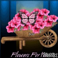 Flowers for you Random Gif, Flowers For You, Planter Pots, Plant Pots