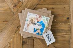 "Danksagungskarten - CD Dankeskarte ""Kreidetafel"" - ein Designerstück von Angelika_Pfeifer bei DaWanda"