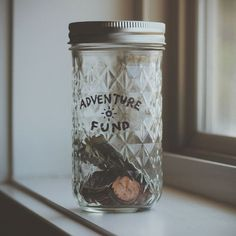 The Adventure Fund Jar......for spontaneity.
