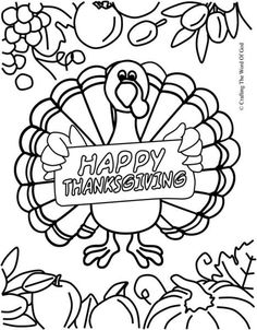 1000 images about thanksgiving crafts on pinterest for Thanksgiving sunday school coloring pages
