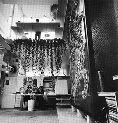 Paul Rudolph Architectural Office Interior