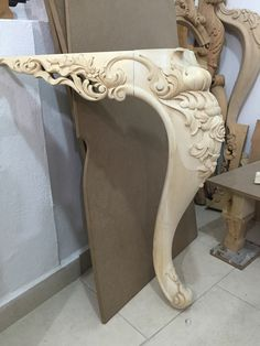 Pin By Esam Dsoke On Furniture Wood Carving Designs Wood Carving Designs, Wood Carving Art, Wood Art, Furniture Legs, Furniture Design, Wood Table Legs, Woodworking Inspiration, House Plants Decor, Art Carved