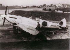 Supermarine Spitfire Mk.VII, MB935, NX-Z, 131 Squadron, pilot W/O Douglas Frederick Phillips