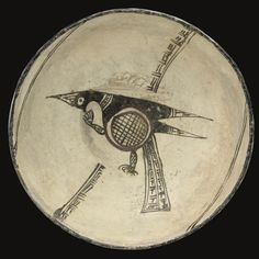 A NISHAPUR CONICAL POTTERY BOWL, IRAN, 10TH CENTURY