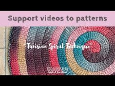 Excellent Free of Charge Tunisian Crochet spiral Popular You have often seen a insane these sharp rrrclawsrrr that are widely used to generate Tunisian croch Tunisian Crochet Patterns, Dishcloth Knitting Patterns, Tunisian Crochet Blanket, C2c Crochet, Crochet Afghans, Spiral Crochet, Honeycomb Stitch, Crochet Videos, Garter Stitch