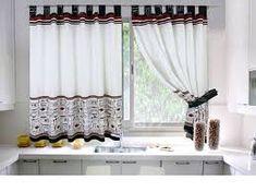 Hasil gambar untuk cortinas para cocina
