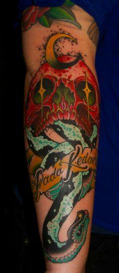 Harry potter tattoo  dark mark  DEAN NORMAN TATTOOS