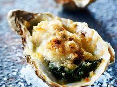 Découvrez la recette Huîtres chaudes gratinées sur cuisineactuelle.fr.
