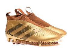 Adidas Enfant/Femme Football Chaussure ACE 16+ Purcontrol terrain souple or Tyrant Or