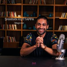 . K N O W  Y O U R  E X P E R T : . . Sharan Kuttappa Magician | Actor COURSE: Learn Cool Magic Tricks in 30 Days . . A magician based in Bangalore, Sharan is an expert at mystifying and bringing joy to his audience. He involves the art and craft of magic that includes sleights, misdirection, mentalism, and interaction, incorporating the elements to blow your mind. A performer by nature with a background in theatre, Sharan has graduated from the Trinity College of London for Speech, Drama… The Magicians, Cool Magic Tricks, Blow Your Mind, Theatre, Drama, Bring It On, College, Joy, Actors
