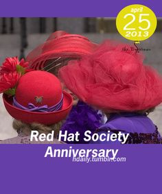 Red Hat Society Anniversary!