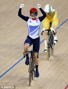 Cycling queen Victoria Pendleton