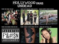 Hollywood Undead fans