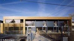 Une maison contemporaine en bois, primée à Angers 2006